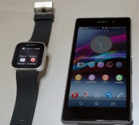 sony smart watch 2 and experia