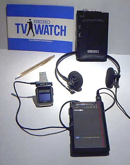 Seiko TV Watch  - full box set