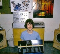 dorm room stereo - my dad's dorm room in the early 80s