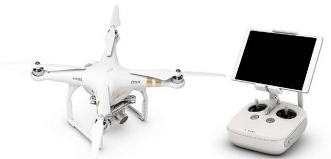 DJI Phantom 3 Professional and controller
